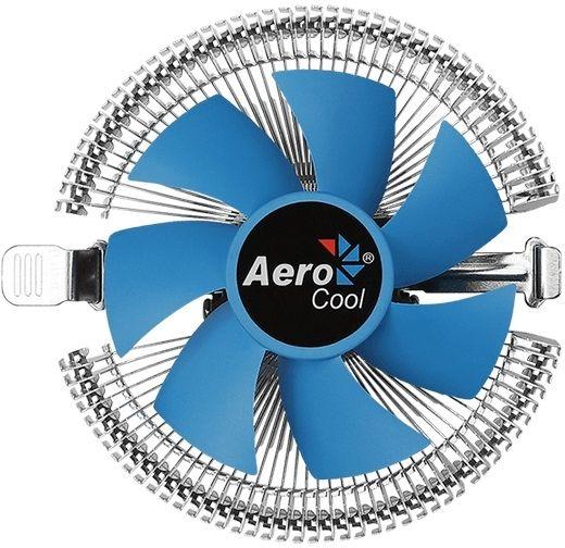 Устройство охлаждения(кулер) Aerocool Verkho A-3P Soc-FM2+/AM2+/AM3+/AM4 3-pin 29dB Al 100W 230gr Ret