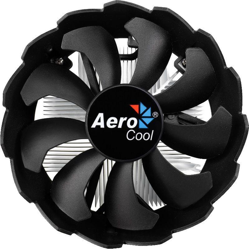 Устройство охлаждения(кулер) Aerocool BAS Soc-1150/1151/1155 3-pin 24dB Al 100W 422gr Ret