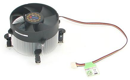 Устройство охлаждения(кулер) Titan TTC-NA02TZ/RPW1 Soc-1200/1150/1151/1155 4-pin 11-33dB Al 130W 498gr Ret