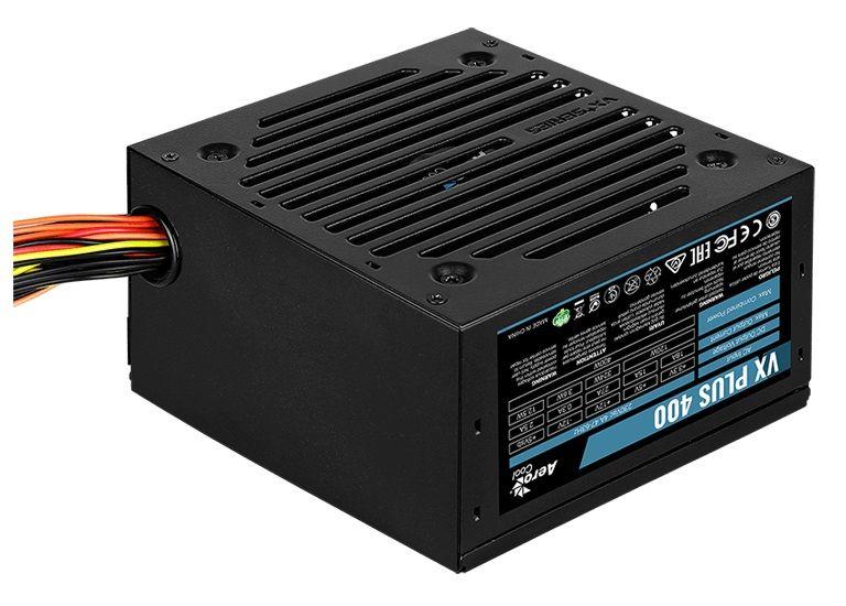 Блок питания Aerocool ATX 400W VX PLUS 400W (24+4+4pin) 120mm fan 2xSATA RTL