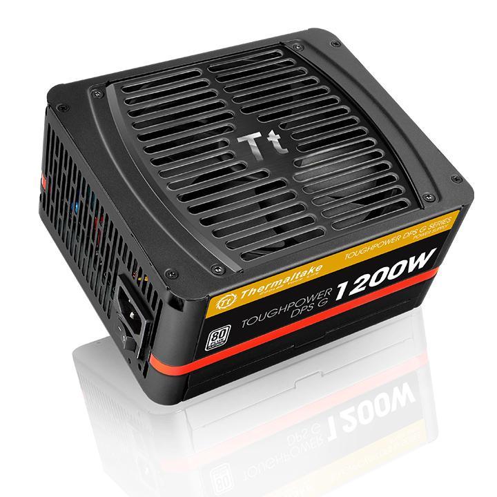 Блок питания Thermaltake ATX 1200W Toughpower DPS G 80+ platinum (24+4+4pin) APFC 140mm fan 12xSATA Cab Manag RTL