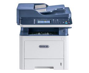 МФУ лазерный Xerox WorkCentre WC3335DNI (3335V_DNI) A4 Duplex Net WiFi белый/синий