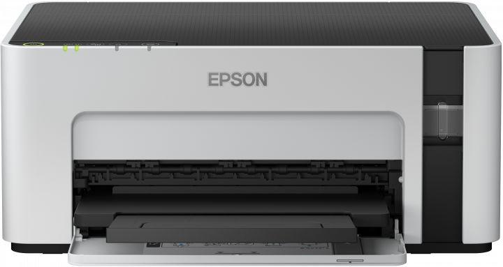Принтер струйный Epson M1120 (C11CG96405) A4 WiFi USB серый/черный (плохая упаковка)