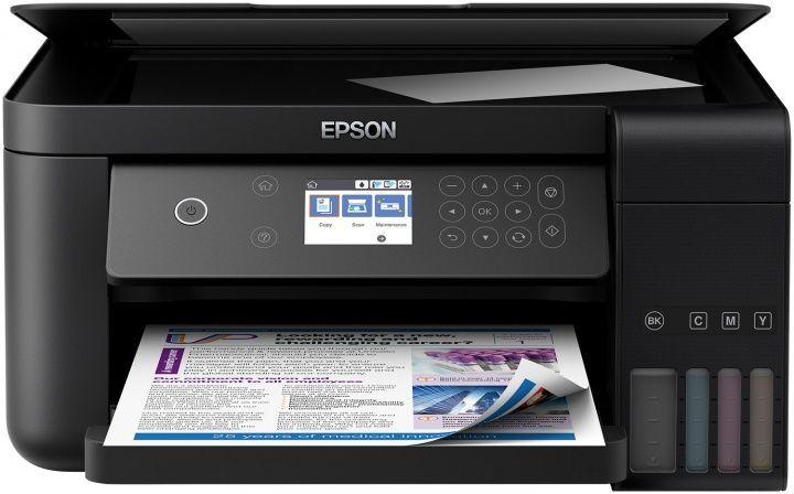 МФУ струйный Epson L6160 (C11CG21404) A4 Duplex Net WiFi USB RJ-45 черный (плохая упаковка)