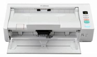 Сканер Canon DR-M140 (5482B003) A4 белый
