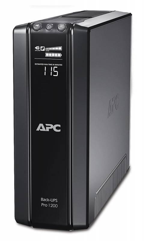 Источник бесперебойного питания APC Back-UPS Pro BR1200GI 720Вт 1200ВА черный