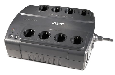 Источник бесперебойного питания APC Back-UPS ES BE700G-RS 405Вт 700ВА черный