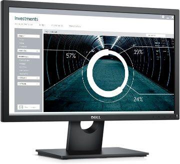 """Монитор Dell 21.5"""" E2216Hv черный TN LED 5ms 16:9 Mat 1000:1 250cd (плохая упаковка)"""