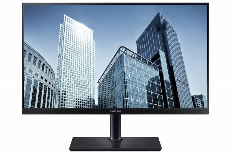 "Монитор Samsung 27"" S27H850QFI черный PLS LED 4ms 16:9 HDMI матовая HAS Pivot 1000:1 350cd 178гр/178гр 2560x1440 DisplayPort Ultra HD 2K (1440p) 8.0кг"