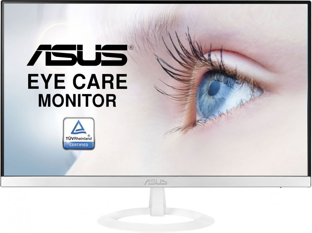 "Монитор Asus 27"" VZ279HE-W белый IPS LED 16:9 HDMI матовая 1000:1 250cd 178гр/178гр 1920x1080 D-Sub FHD 3.9кг"