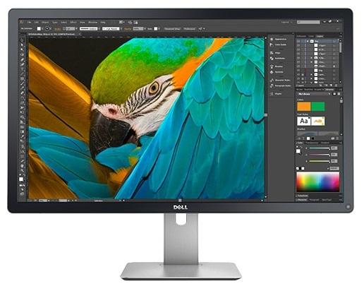 """Монитор Dell 31.5"""" UltraSharp UP3216Q черный IPS LED 16:9 HDMI матовая HAS Pivot 300cd 178гр/178гр 3840x2160 DisplayPort Ultra HD USB"""