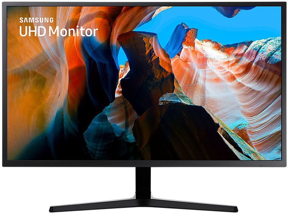 """Монитор Samsung 31.5"""" U32J590UQI темно-серый VA LED 4ms 16:9 HDMI матовая 3000:1 270cd 178гр/178гр 3840x2160 DisplayPort Ultra HD 8.3кг"""