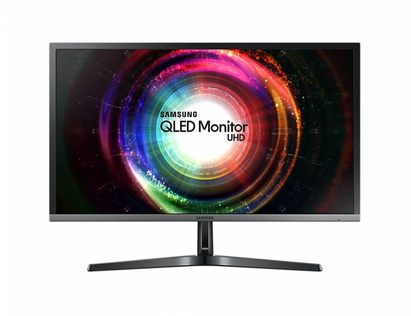 "Монитор Samsung 27.9"" U28H750UQI черный TN+film LED 1ms 16:9 HDMI матовая 1000:1 300cd 170гр/160гр 3840x2160 DisplayPort Ultra HD USB 5.2кг"