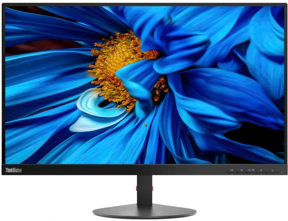 "Монитор Lenovo 23.8"" ThinkVision S24e-10 черный VA 4ms 16:9 HDMI 3000:1 250cd 178гр/178гр 1920x1080 D-Sub 3.07кг"