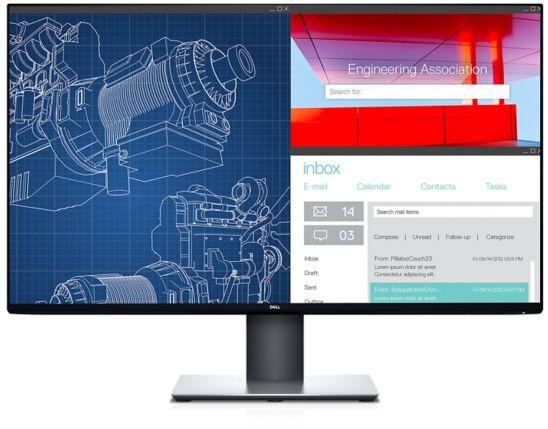 """Монитор Dell 31.5"""" UltraSharp U3219Q черный IPS LED 8ms 16:9 HDMI матовая HAS Pivot 1300:1 300cd 178гр/178гр 3840x2160 DisplayPort Ultra HD USB 9.6кг"""
