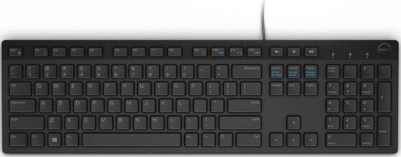 Клавиатура Dell KB216 черный USB Multimedia