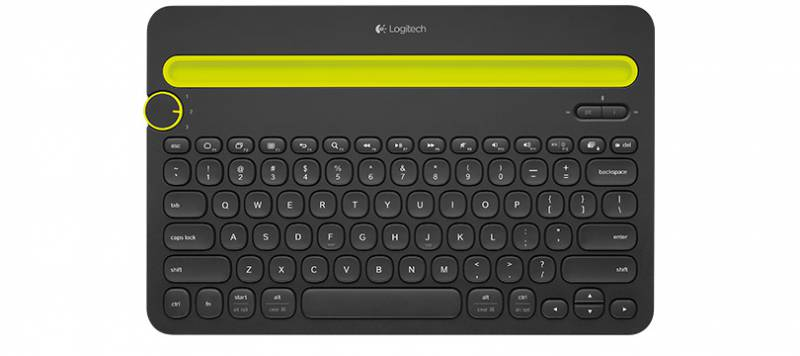 Клавиатура Logitech Multi-Device K480 черный (920-006368)