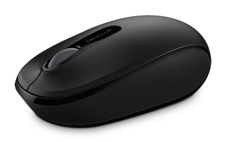 Мышь Microsoft Mobile Mouse 1850 черный оптическая (1000dpi) беспроводная USB для ноутбука (2but)