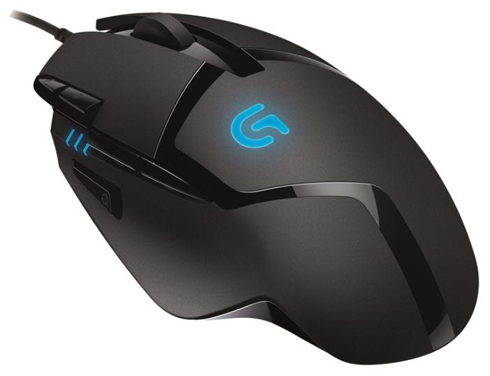 Мышь Logitech G402 черный оптическая (4000dpi) USB2.0 (7but)