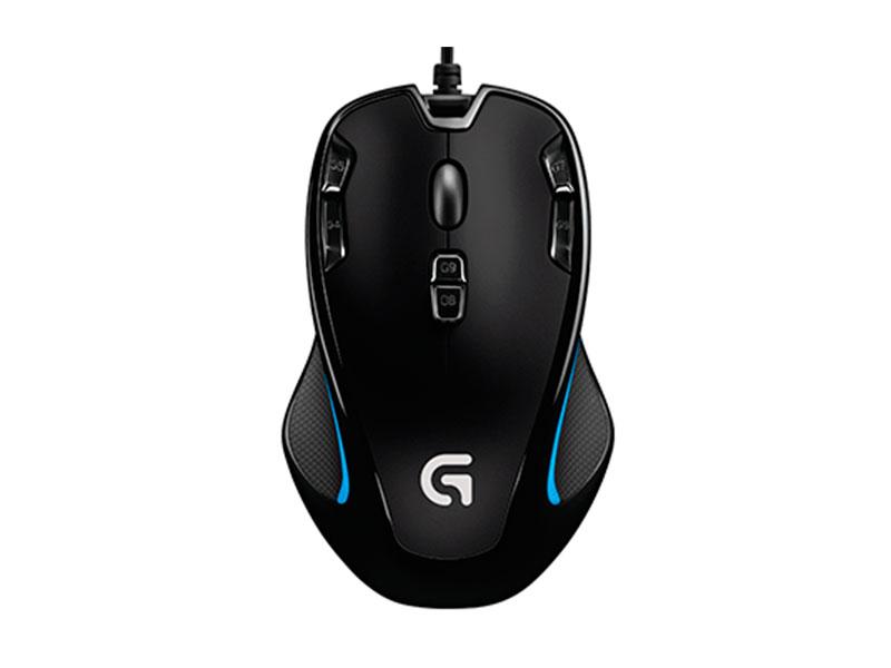 Мышь Logitech G300s черный оптическая (2500dpi) USB2.0 (8but)