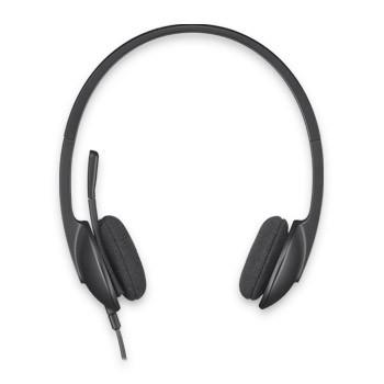 Наушники с микрофоном Logitech H340 черный 1.8м накладные оголовье (981-000475)