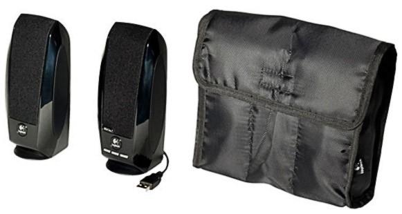 Колонки Logitech S150 2.0 черный 1.2Вт