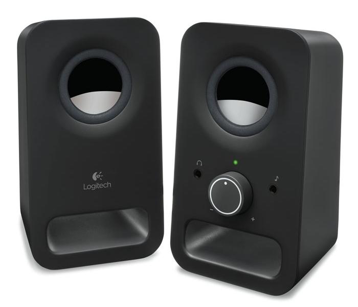 Колонки Logitech Z150 2.0 черный 3Вт