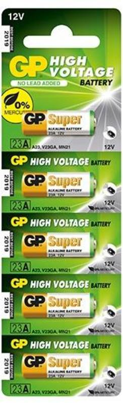 Батарея GP Super Alkaline 23AF MN21 (5шт)