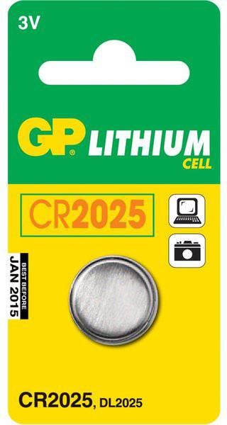 Батарея GP Lithium CR2025 (1шт)