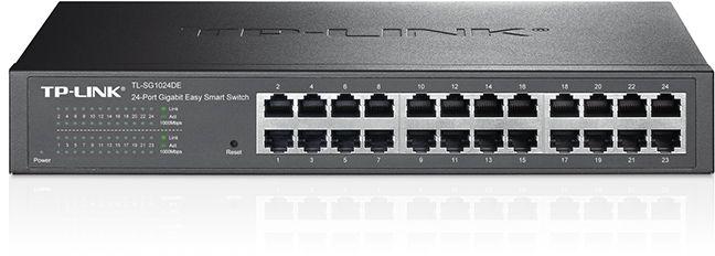Коммутатор TP-Link TL-SG1024DE 24G управляемый