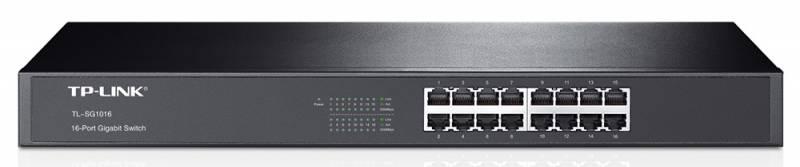 Коммутатор TP-Link TL-SG1016 16G неуправляемый