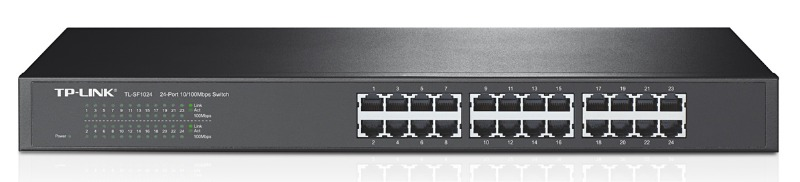 Коммутатор TP-Link TL-SF1024 24x100Mb неуправляемый