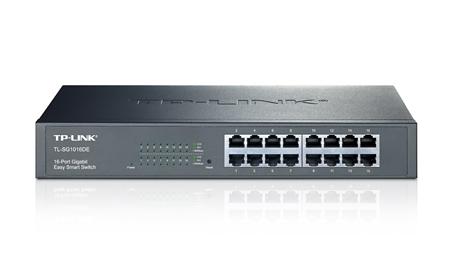 Коммутатор TP-Link TL-SG1016DE 16G управляемый