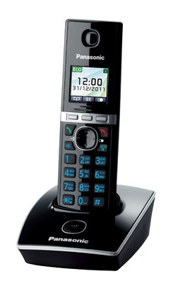 Р/Телефон Dect Panasonic KX-TG8051RUB черный АОН