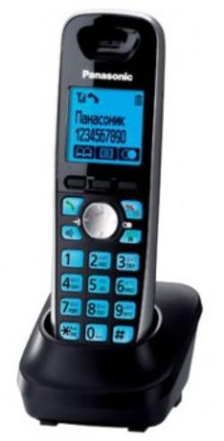 Трубка доп. Dect Panasonic KX-TGA681RUB черный для KX-TG6811/6821/6812/6822
