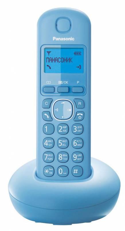 Р/Телефон Dect Panasonic KX-TGB210RUF голубой АОН