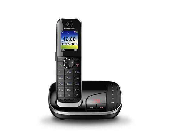 Р/Телефон Dect Panasonic KX-TGJ320RUB черный автооветчик АОН
