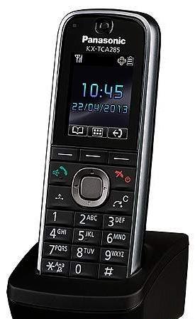 Трубка доп. Dect Panasonic KX-TCA285RU черный для KX-TDA/TDE/NCP/NS