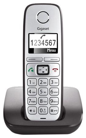 Р/Телефон Dect Gigaset E310 RUS серый АОН