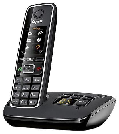 Р/Телефон Dect Gigaset C530A RUS черный автооветчик АОН