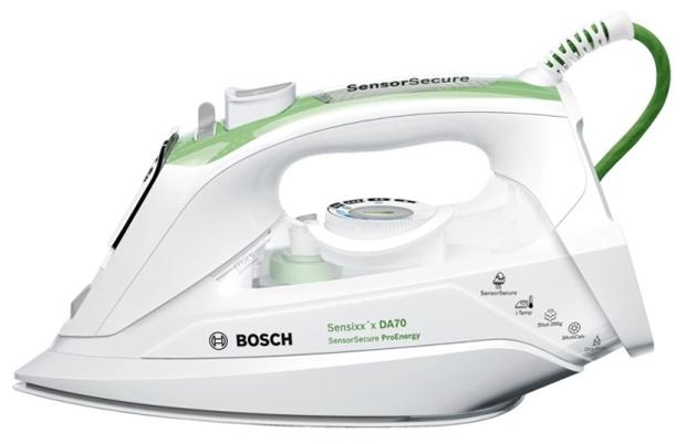 Утюг Bosch Sensixxx TDA702421E 2400Вт зеленый/белый