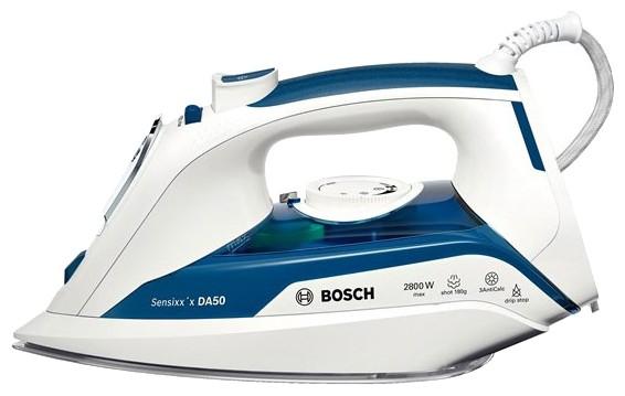 Утюг Bosch TDA5028010 2800Вт белый/синий