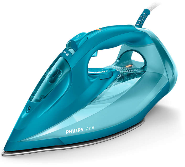Утюг Philips Azur GC4558/20 2600Вт голубой