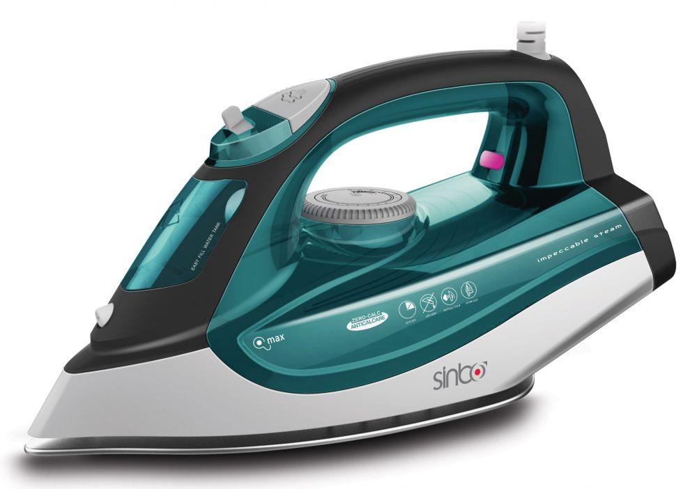 Утюг Sinbo SSI 6612 2200Вт зеленый/белый (плохая упаковка)