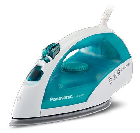 Утюг Panasonic NI-E410TMTW 2150Вт голубой/белый