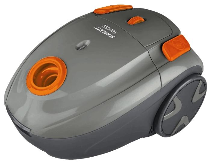 Пылесос Scarlett SC-VC80B01 1800Вт оранжевый/серый