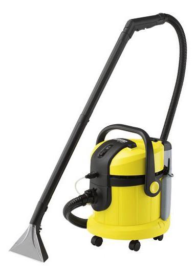 Пылесос моющий Karcher SE4002 1400Вт желтый/черный