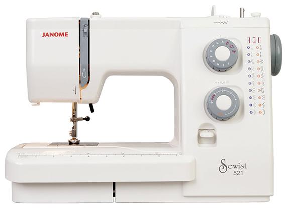 Швейная машина Janome 521 белый