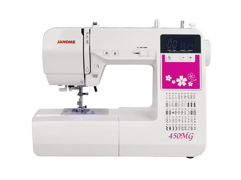 Швейная машина Janome 450MG белый (плохая упаковка)