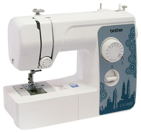 Швейная машина Brother LX-1400S белый